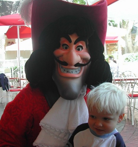 Captain Hook and a (not) Lost Boy